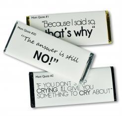 Classic Mum Quotes Chocolate Bars