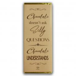 Chocolate understands bar