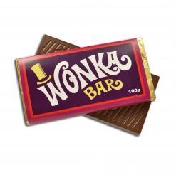 100 gram Milk Wonka Bar