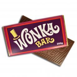200 gram Milk Wonka Bar